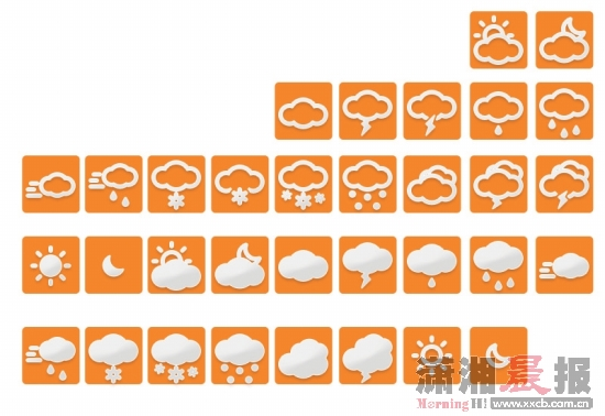 天气凉大风微信表情包分享展示图片