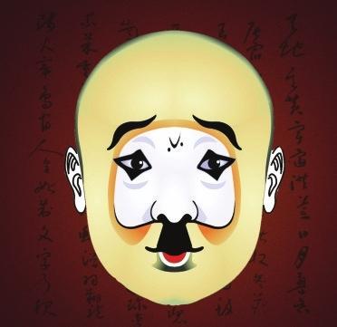 净角在京剧脸谱中的角色是浓墨重彩,个性鲜图片