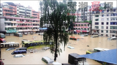 重庆降今年最强暴雨,列车航班大晚点