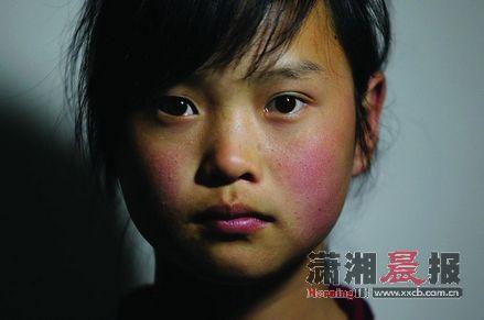 12岁到14岁的小学生素颜照。