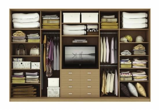 鸿扬衣柜内部结构图