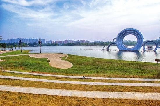 长沙市望城半岛水利风景区