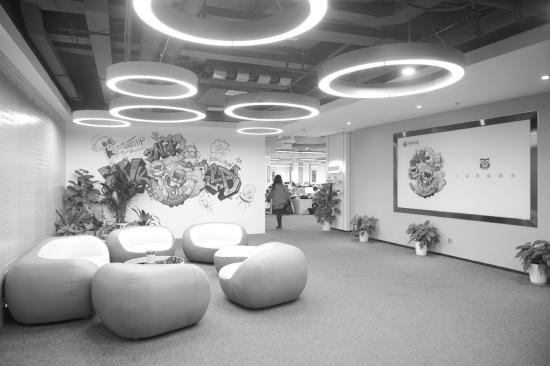 3月21日,位于长沙中电软件园的湖南映客互娱网络信息有限公司.