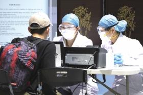 所有入境旅客都要填写入湘卡 长沙机场防控措施升级 新湖南www.hunanabc.com